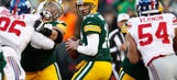 If Aaron Rodgers continues to play like this, no one can beat the Packers