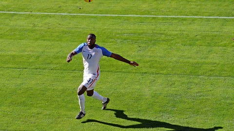 The USMNT looked better as players combined more