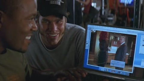Tom Brady in 'Stuck on You'