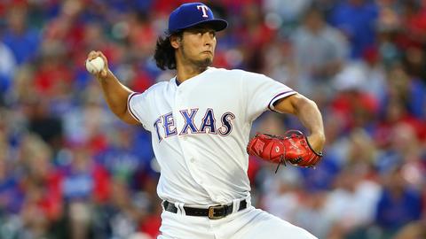 Japan (Habikino): Yu Darvish, SP, Texas Rangers