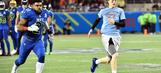 PHOTOS: Ezekiel Elliott tackles fan on the field at Pro Bowl