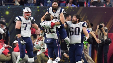 The Patriots complete what looked like an impossible comeback