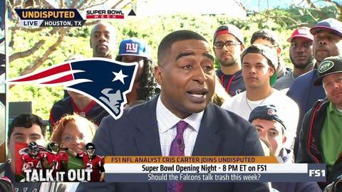 Cris Carter, FS1 analyst: Patriots