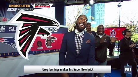 Greg Jennings, FS1 analyst: Falcons