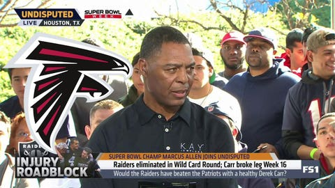 Marcus Allen, Hall of Fame RB: Falcons