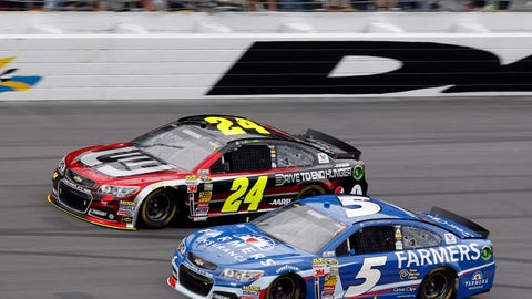 2014, 31st with Hendrick Motorsports