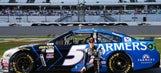 Kasey Kahne's Daytona 500 paint schemes and results