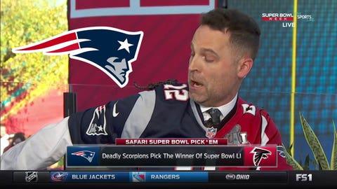 Jay Onrait's scorpions: Patriots