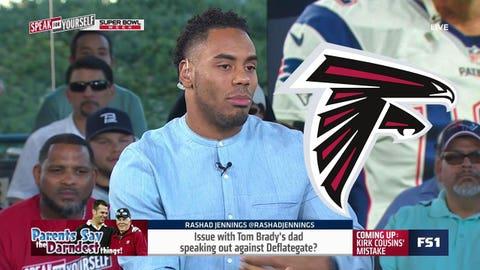 Rashad Jennings, Giants RB: Falcons