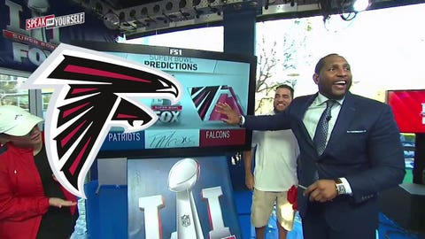 Ray Lewis, FS1 analyst: Falcons