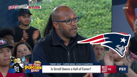 Torry Holt, 7-time Pro Bowl WR: Patriots