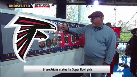Bruce Arians, Cardinals head coach: Falcons