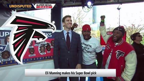 Eli Manning, Giants QB: Falcons