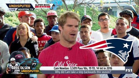Greg Olsen, Panthers TE: Patriots