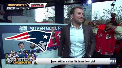 Jason Witten, Cowboys TE: Patriots