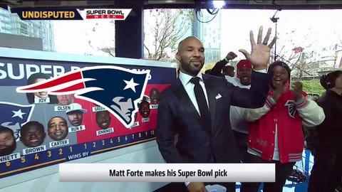 Matt Forte, Jets RB: Patriots