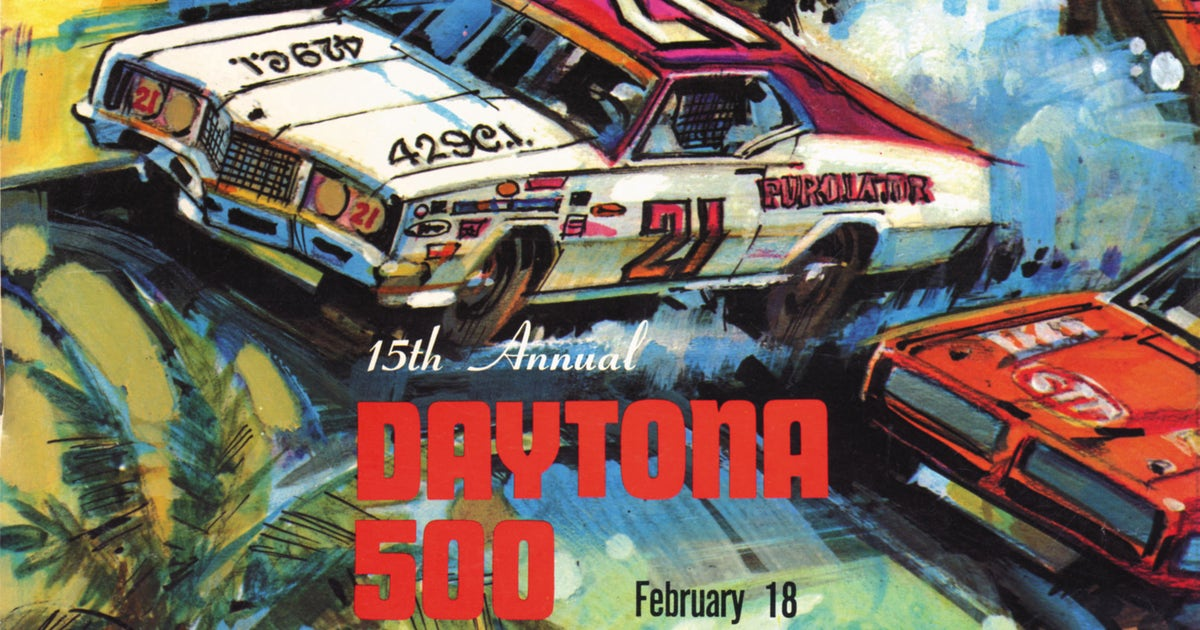 Check out every Daytona 500 program from 1959 to 2016 ...
