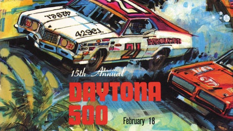 Check out every Daytona 500 program from 1959 to 2016