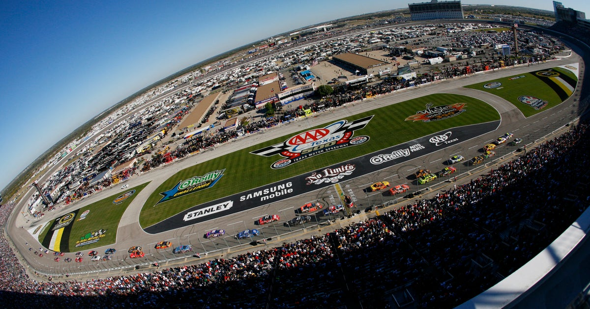 tv schedule for nascar weekend at texas motor speedway