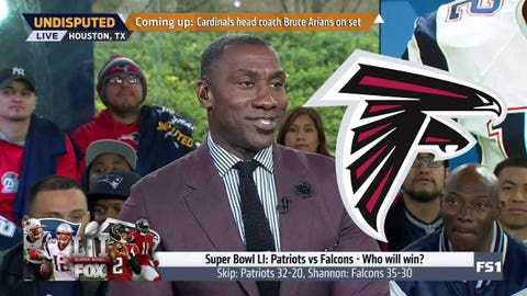 Shannon Sharpe, 'Undisputed' host: Falcons