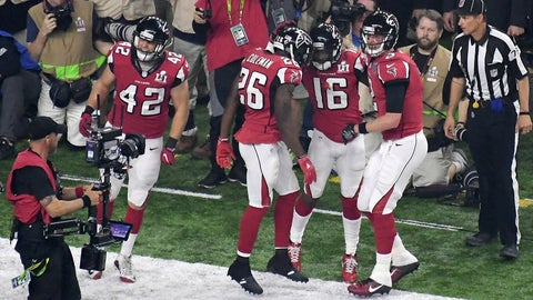Falcons continue to pile it on