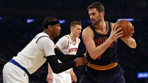 Kevin Love for Carmelo Anthony