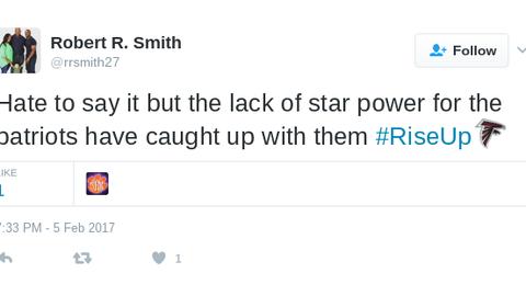 Then Tom Brady threw a pick-six ...