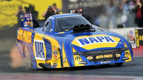 Ron Capps won his first NHRA Funny Car title in his 20th year of trying in 2016. (Photo: Don Schumacher Racing)