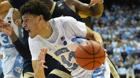 North Carolina: No. 2 seed in South