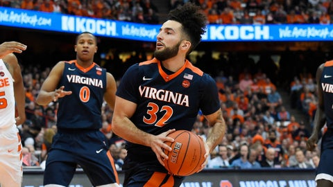 Virginia: No. 3 seed in West