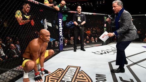 Anderson Silva vs. Georges St-Pierre