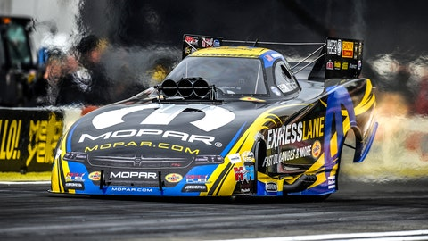 Here are the ladders for Sunday's NHRA Final Eliminations