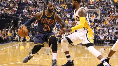 Cavaliers over Pacers in six games