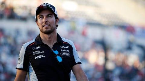Sergio Perez - $2.5 million