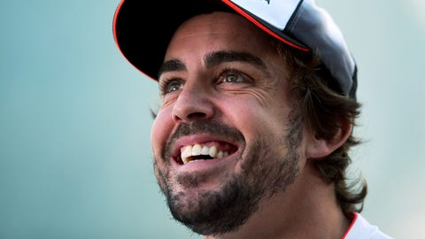 Fernando Alonso - $40 million (includes bonuses)