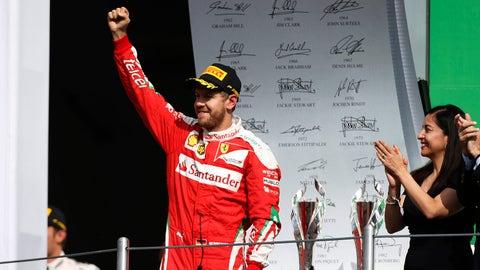 Sebastian Vettel - $30 million (plus bonuses)
