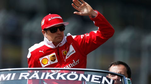 Kimi Raikkonen - $7 million (plus bonuses)