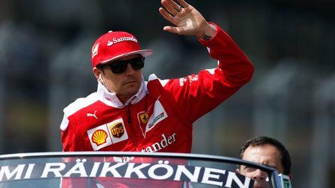 Kimi Raikkonen - $7 million (plus bonuses)