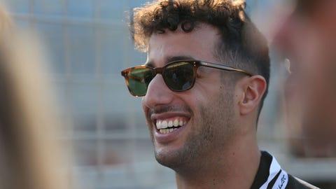 Daniel Ricciardo - $6.5 million (plus bonuses)