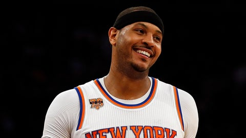Carmelo Anthony will stay in New York City (for now)