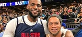 Check out Barcelona legend Ronaldinho hanging out at NBA All-Star weekend