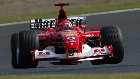 3. Ferrari F2002