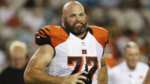 Left tackle: Andrew Whitworth, Bengals