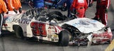 Images from Justin Fontaine's incredible crash at Daytona