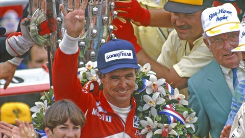 Rick Mears makes history