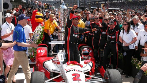 Sixteen Indianapolis 500 wins