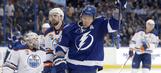 Palat and Kucherov shine in Lightning win over Oilers