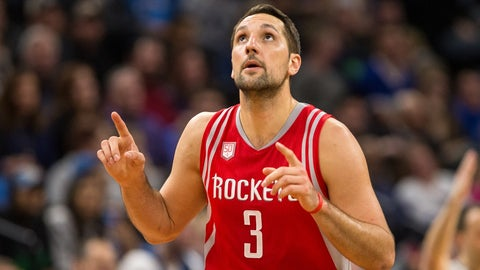 Bench: Ryan Anderson, F, Houston Rockets