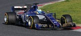 Here's the first footage of a 2017 F1 car on track