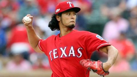 Yu Darvish -- Texas Rangers